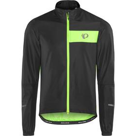PEARL iZUMi Select Barrier Jacket Herren black/screaming green